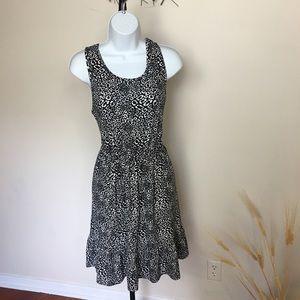 Medium cheetah print FRENCH GREY. Super soft dress